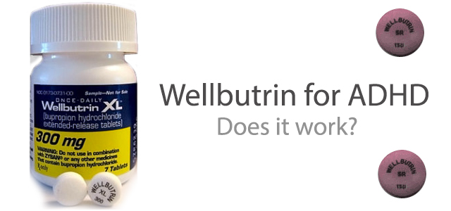 Wellbutrin for ADHD research